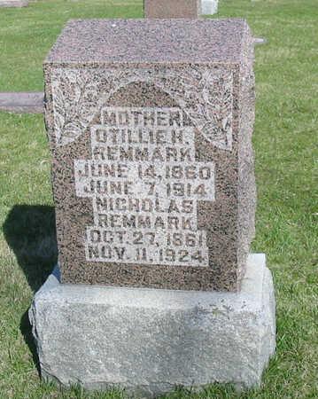 REMMARK, OTILLIE H. - Mahaska County, Iowa | OTILLIE H. REMMARK