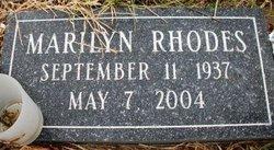 RHODES, MARILYN - Mahaska County, Iowa | MARILYN RHODES
