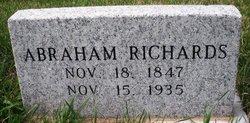 RICHARDS, ABRAHAM - Mahaska County, Iowa | ABRAHAM RICHARDS