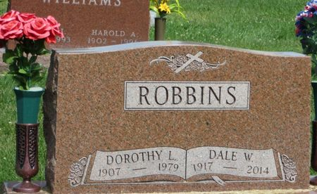 ROBBINS, DOROTHY L. - Mahaska County, Iowa   DOROTHY L. ROBBINS