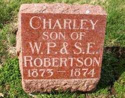 ROBERTSON, CHARLEY - Mahaska County, Iowa | CHARLEY ROBERTSON