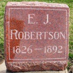 ROBERTSON, ELIZA JANE - Mahaska County, Iowa | ELIZA JANE ROBERTSON