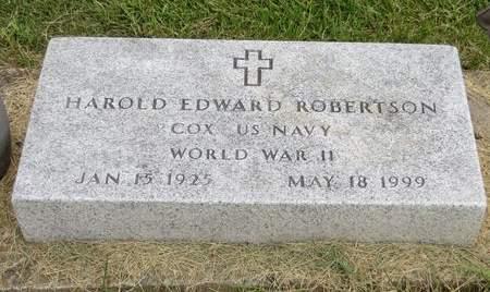 ROBERTSON, HAROLD EDWARD - Mahaska County, Iowa | HAROLD EDWARD ROBERTSON