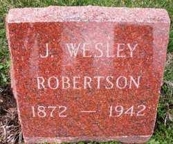 ROBERTSON, J. WESLEY - Mahaska County, Iowa | J. WESLEY ROBERTSON
