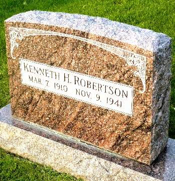ROBERTSON, KENNETH H. - Mahaska County, Iowa | KENNETH H. ROBERTSON