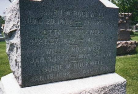 ROCKWELL, CHILDREN - Mahaska County, Iowa | CHILDREN ROCKWELL