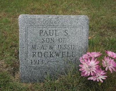 ROCKWELL, PAUL S. - Mahaska County, Iowa | PAUL S. ROCKWELL