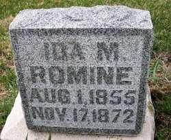 ROMINE, IDA M. - Mahaska County, Iowa | IDA M. ROMINE
