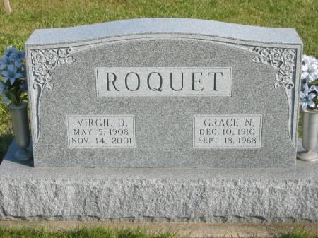 ROQUET, VIRGIL D. - Mahaska County, Iowa | VIRGIL D. ROQUET