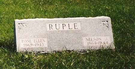 RUPLE, ROSE ELLEN - Mahaska County, Iowa | ROSE ELLEN RUPLE
