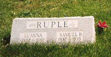 RUPLE, LUANNA - Mahaska County, Iowa | LUANNA RUPLE
