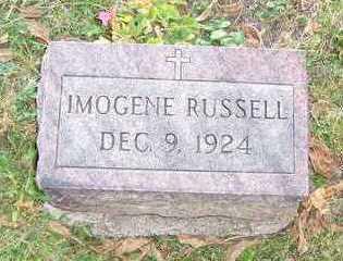 RUSSELL, IMOGENE - Mahaska County, Iowa   IMOGENE RUSSELL