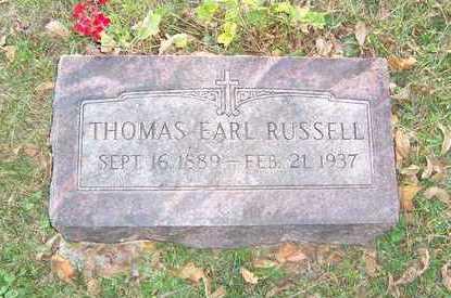 RUSSELL, THOMAS - Mahaska County, Iowa | THOMAS RUSSELL
