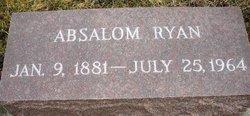 RYAN, ABSALOM - Mahaska County, Iowa | ABSALOM RYAN