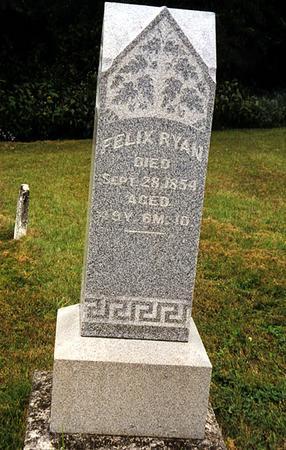 RYAN, FELIX - Mahaska County, Iowa | FELIX RYAN
