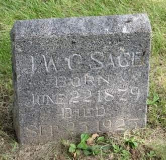 SAGE, J.W.C. - Mahaska County, Iowa | J.W.C. SAGE