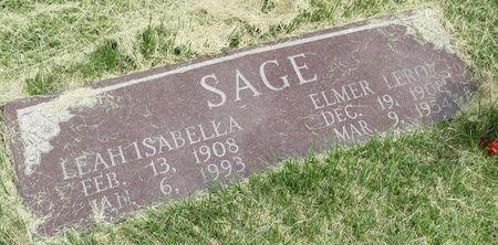 SAGE, LEAH ISABELLA - Mahaska County, Iowa | LEAH ISABELLA SAGE