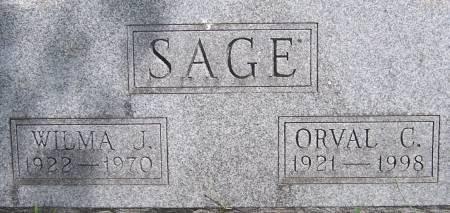 SAGE, ORVAL C. - Mahaska County, Iowa   ORVAL C. SAGE