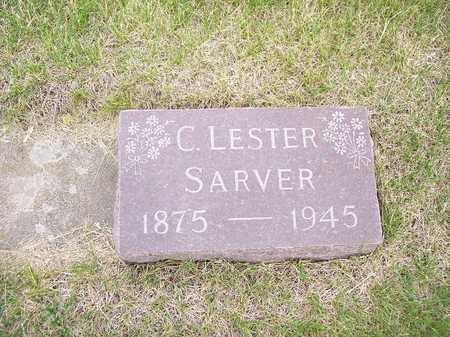 SARVER, C. LESTER - Mahaska County, Iowa | C. LESTER SARVER