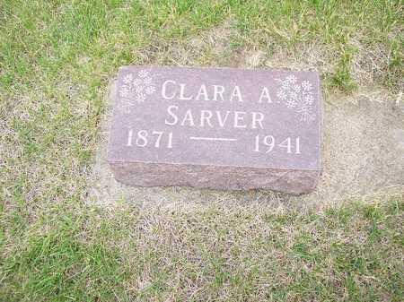SARVER, CLARA A. - Mahaska County, Iowa | CLARA A. SARVER