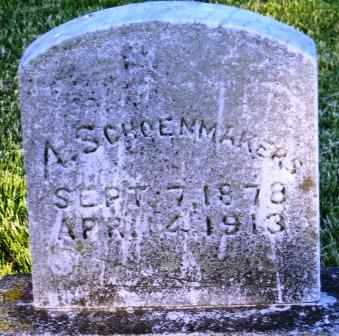SCHOENMAKERS, A. - Mahaska County, Iowa | A. SCHOENMAKERS