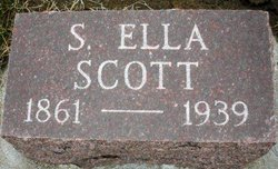 SCOTT, S. ELLA - Mahaska County, Iowa | S. ELLA SCOTT