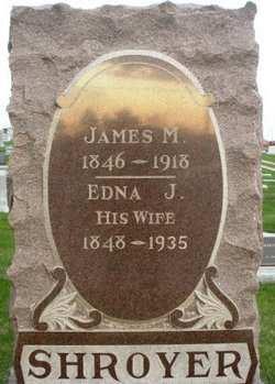 SHROYER, EDNA J. - Mahaska County, Iowa | EDNA J. SHROYER