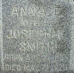 SMITH, ANNA E. - Mahaska County, Iowa   ANNA E. SMITH