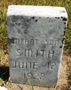 SMITH, INFANT SON - Mahaska County, Iowa | INFANT SON SMITH