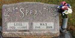 SPEAS, MAX - Mahaska County, Iowa | MAX SPEAS
