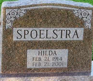 SPOELSTRA, HILDA - Mahaska County, Iowa | HILDA SPOELSTRA