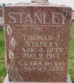 STANLEY, THOMAS J. - Mahaska County, Iowa | THOMAS J. STANLEY