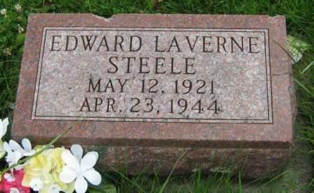 STEELE, EDWARD LAVERNE - Mahaska County, Iowa | EDWARD LAVERNE STEELE