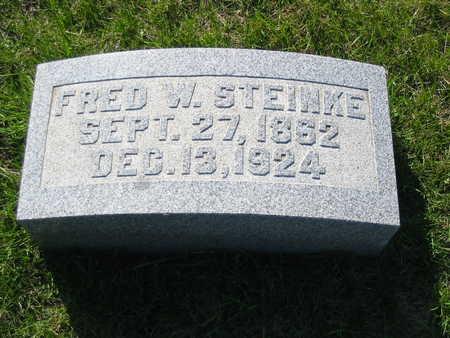 STEINKE, FRED - Mahaska County, Iowa | FRED STEINKE