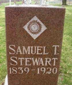 STEWART, SAMUEL T. - Mahaska County, Iowa | SAMUEL T. STEWART