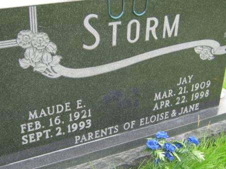 STORM, JAY - Mahaska County, Iowa | JAY STORM