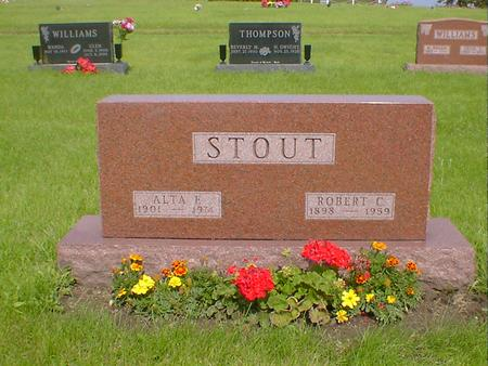 STOUT, ROBERT C. - Mahaska County, Iowa | ROBERT C. STOUT
