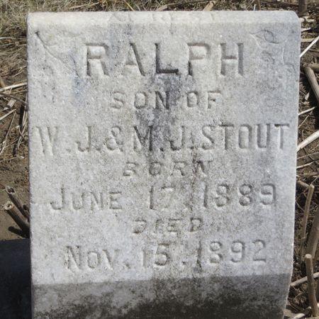 STOUT, RALPH - Mahaska County, Iowa | RALPH STOUT