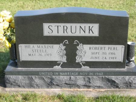 STRUNK, ROBERT PERL - Mahaska County, Iowa | ROBERT PERL STRUNK