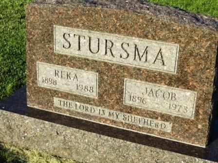 STURSMA, JACOB - Mahaska County, Iowa | JACOB STURSMA