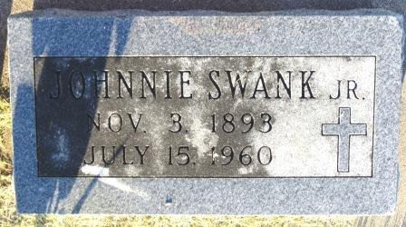 SWANK, JOHNNIE, JR. - Mahaska County, Iowa | JOHNNIE, JR. SWANK