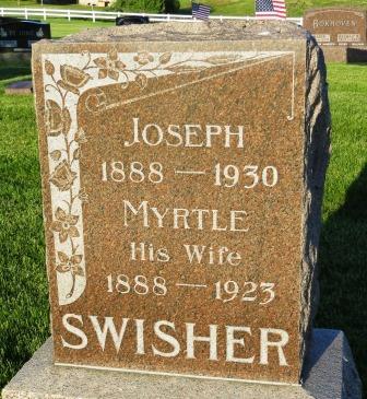 SWISHER, MYRTLE - Mahaska County, Iowa | MYRTLE SWISHER