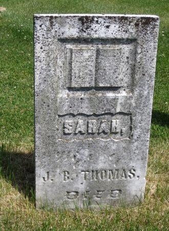 THOMAS, SARAH - Mahaska County, Iowa | SARAH THOMAS