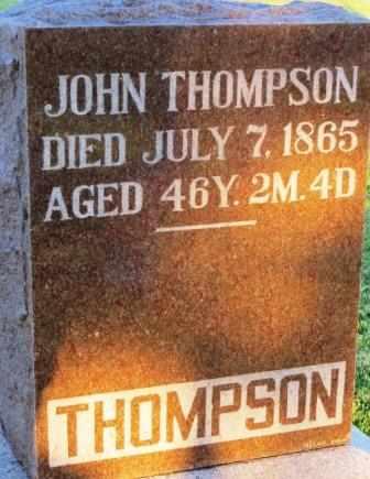 THOMPSON, JOHN - Mahaska County, Iowa | JOHN THOMPSON