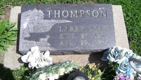 THOMPSON, LARRY DEAN - Mahaska County, Iowa   LARRY DEAN THOMPSON