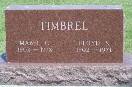 MILES TIMBREL, MABEL - Mahaska County, Iowa | MABEL MILES TIMBREL