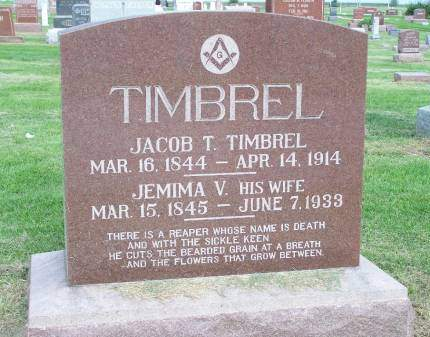 TIMBREL, JACOB - Mahaska County, Iowa | JACOB TIMBREL