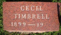 TIMBRELL, CECIL - Mahaska County, Iowa | CECIL TIMBRELL