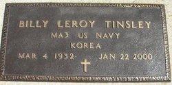 TINSLEY, BILLY LEROY - Mahaska County, Iowa | BILLY LEROY TINSLEY