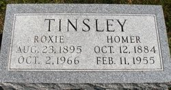 TINSLEY, ROXIE - Mahaska County, Iowa | ROXIE TINSLEY